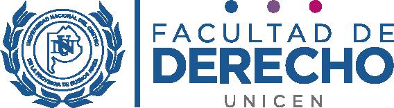 Derecho UNICEN logo 2020 – color